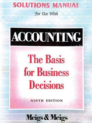 Accounting Solution Manual