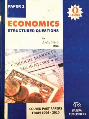 Economics Structure Questions