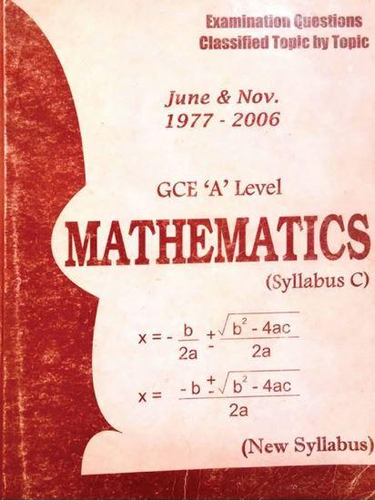 GCE A level mathematics syllabus C
