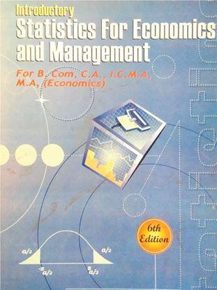 Statistics for economics and management