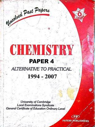 Chemistry Paper 4