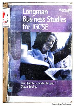 Longman Business Studies for IGCSE edexcel